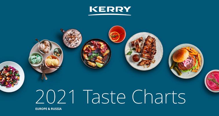 (RU) Kerry опубликовала традиционный рейтинг вкусов на 2021 год