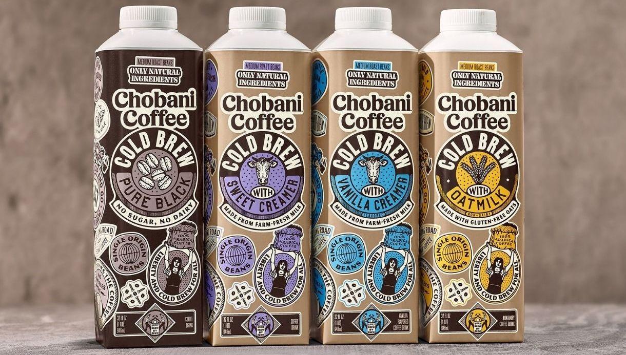 (RU) Chobani запускают линию холодного кофе
